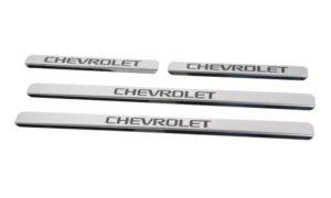 Накладки на пороги Chevrolet Lanos / Sens