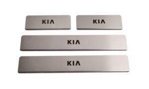 Накладки на пороги Kia Soul 2