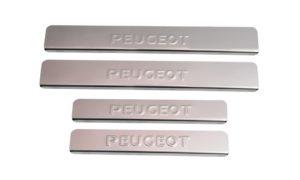 Накладки на пороги Peugeot 206