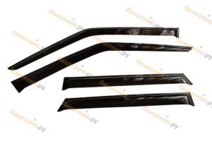 Дефлекторы на окна (ветровики) ВАЗ 2109, 21099, 2114, 2115