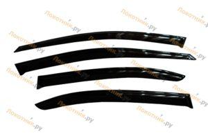 Дефлекторы на окна (ветровики) Skoda Rapid
