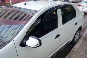 Дефлекторы на окна (ветровики) Renault Logan