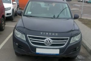 Дефлектор капота (мухобойка) Volkswagen Tugian 1