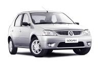 Дефлекторы капота для Renault Logan 1