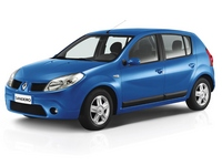 Дефлекторы окон для Renault Sandero 1