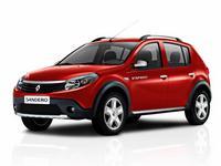 Дефлекторы капота для Renault Sandero 1 Stepway