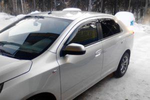 Дефлекторы окон (ветровики) Chevrolet Cobalt