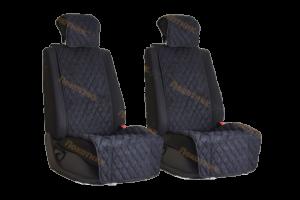 Накидки на сиденья черные