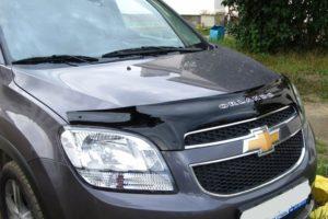 Дефлектор капота для Chevrolet Orlando